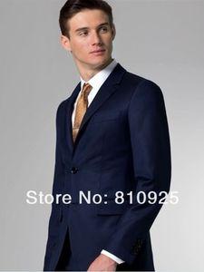 custom made suit men blue groom tuxedo slim fit 2020 high quality popular the new design