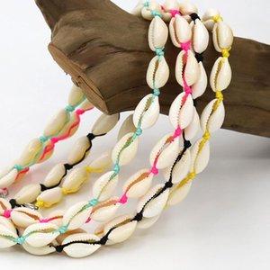 Vonnor العصرية شل الطبيعية سلسلة قلادة قلادة للمرأة أنثى الأزياء اليدوية مجوهرات بوهو قلادة