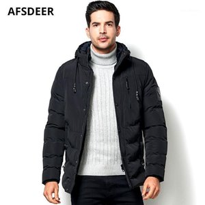 2020 Fashion Mens Winter Jacket and Coat Thick Fleece Warm Windproof Outerwear Casual Hooded Cotton Padded Men Parka Clothes 5XL1