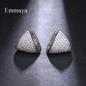 Emmaya Marque unique Boucles d'oreilles Bijoux de mode pour géométriques Originalité femme charme de soirée de mariage cadeau