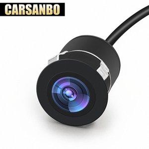 Carsanbo Мини Обратный Резервное копирование автомобиля спереди / Вид сзади заподлицо Водонепроницаемая камера ночного видения Широкий угол обзора с Drill 9vkN #