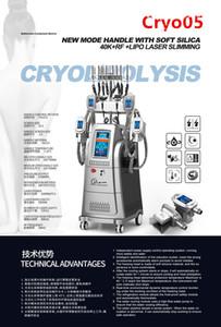 2020 Nuevo Multifunción CE aprobada CRIOLIPOLISI Cool Tech 4 Cryo Handles Cryolipolysi Body Warding Slimming Salon Use Equipo de belleza
