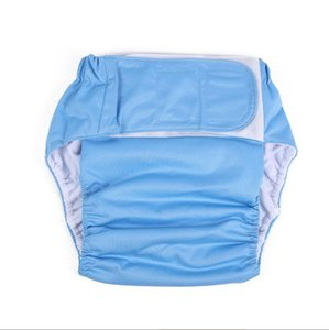 Yetişkinler Yıkama Bezi Sihirli Sopa Bez Bezi Yaşlı Erkekler Sızdırmaz Bezi Pantolon Şort Kullanımlık Bezi 11 Renkler DWC5841 Kapakları
