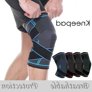 Knee Brace Sport Safety Kneepad Professional Sports Protective Breathable Bandage Knee Brace for Basketball Tennis Cycling Running
