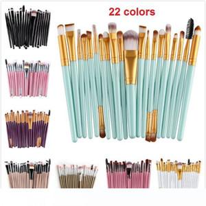20Pcs Set Makeup Brushes Set Powder Foundation Eyeshadow Eyeliner Lip Brush Tool Make Up Brushes Beauty Tools