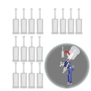 16 шт Универсальный Гравитация Spray-Gun Фильтры Fine Mesh, Одноразовая Гравитация распылителем-Gun Paint STRAINER