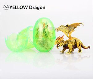 Jurassic dinosaur dinosaur egg flying dragon eggs can be fitted with deformation simulation model toys.