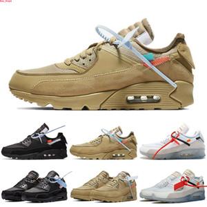 chaussures de course Hommes Sneakers 90 inverse Canard Camo Hyper Raisin Infrarouge Invaincu Blanc Coussin Femmes optique en plein air Formateurs Sport