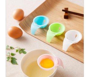 HOT Colorful Kitchen Egg White Separator Egg Filter Kitchen Baking Egg Yolk Separator DHL Free shipping 25 320
