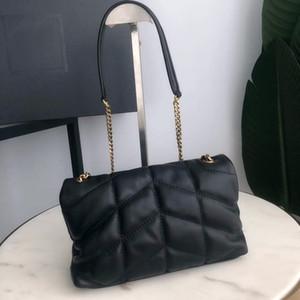 Borsa a tracolla a tracolla a catena in vera pelle borsa a tracolla per donna sacchetti di moda borse da signora borse da studio in pelle da pecora
