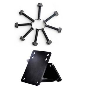 New type of 3 mm slide plate rubber seal 29 mm black mechanical bolt sliding plate double rocker parts in 2020