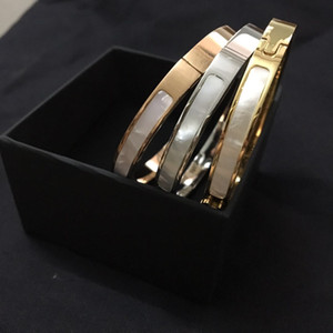 Fashion brand Have stamps designer bracelets for lady women Party wedding lovers gift engagement luxury jewelry With BOX CHB0418
