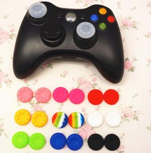 stick Wholesale cap Soft Skid-Proof Thumb Silicone Thumbsticks caps Joystick covers Grips cover for PS3 PS4 XBOX ONE XBO