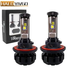 Car LED Headlight H13 9008 Hi Lo Beam Bulb 80W XHP50 Chips 6000K Conversion Kit Automobile Headlamp Bulbs Fog Lights 12V
