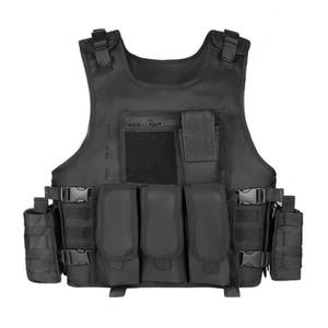 Охотничьи куртки тактический жилет Molle Plate Carrier Swat Рыбалка Paintball CS Assault Army Armor Armor