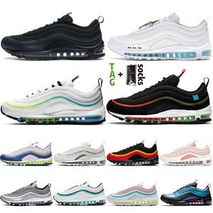 nike max air airmax 97 97s homens mulheres 97s ao ar livre tênis jesus venda quente em todo o mundo ar brancoairmaxmax branqueada coral praia sul formadores sneakers