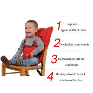 Baby tragbarer Sitz Kinderstuhl Reise Faltbar Waschbar Säuglingsgeisteindecker Sitz Sicherheitsgurt Fütterung Hochstuhl Freies Verschiffen EWD2133