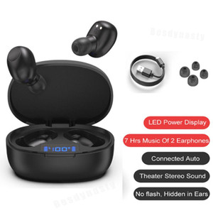 TWS T12 Bluetooth Earphones Headphones business headset sports earbuds wireless V5.0 Earpieces With Mic For huawei