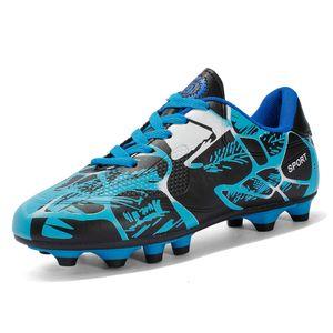 Lunghi picchi Adolescente Scarpe da calcio Lace Up Men Football Sneakers antiscivolo Allenamento per bambini Stivali da calcio OTR Sneaker 32-43