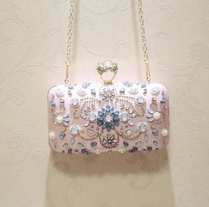 2020 المرأة القابض أكياس للنساء الإناث محفظة محفظة حزب حقيبة الماس المغلف الزفاف مساء حقائب اليد