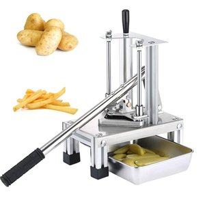 OT Acero inoxidable Francés Cocina Fry Fry Fries Patatas Chips Strip Cutter Cutter Máquina Makero Patatas Herramientas
