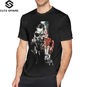 Metal Gear Solid Metal Gear Solid V Streetwear Impressionnant à manches courtes en coton 100 4XL designers hoodie graphiques t-shirts sweat