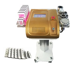 Radio Frequency Bipolar Ultrasonic Cavitation 7 in1 Cellulite Removal Slimming Machine Vacuum Weight Loss Beauty Equipmet