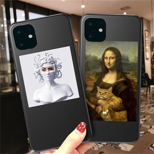 For iPhone 11 Case Art Abstract Phone Case For iPhone 11 Pro X XR XS Max 8 7 6 6s Plus 5 SE 2020 Soft TPU Silicone Cover