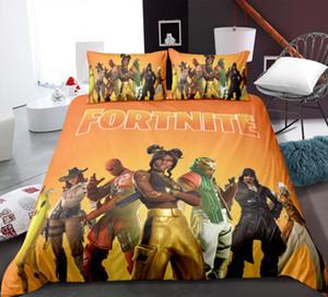 Fortnite3 komplettes Bett Set, Kinder Original Bettwäsche, extrem weich, Anti-Fading-Mikrofaser
