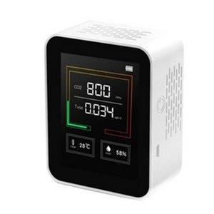Dióxido de carbono Detector de CO2 Contenido de concentración de gas Color SN Ligent Air Tester Analizador de calidad de aire CO2 Detector