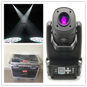 2pcs with flightcase Led Disco Moving Head stage wedding event gobo spot 100 watt led beam moving head spot light