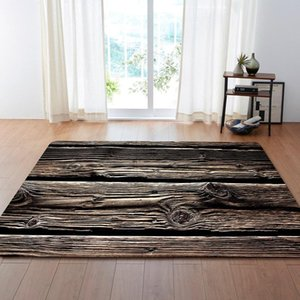 3D Retro Dry Wood Grain Ring Large Carpet For Living Room Anti-Slip Sofa Tatami Floor Mat Table Rug tapetes para casa sala