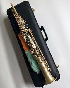 New Straight Yanagisawa S-992 Soprano Saxophone music instrument B Flat Soprano saxophone with case Professional