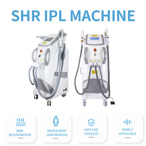 New Designed Multifunctional 3 In1 beauty machine for Tattoo removal&Hair removal&Skin Rejuvenation OPT IPL SHR+Nd Yag laser+RF for spa