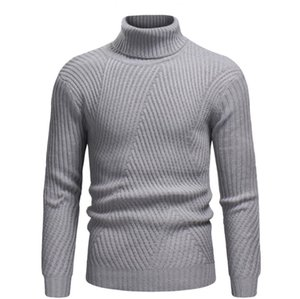 New Design Men's Sweater 2019 Latest Fashion High Collar Pullover Warm Comfortable Hot Sale Free Shipping