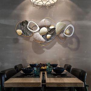 Modern Basit Salon TV Arka Plan Duvar Dekorasyon Duvar Asılı Porch Yemek Odası Yatak Odası Yaratıcı Işık Lüks Dekor