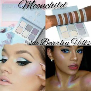 New Makeup Face moon child hills palette eye shadow makeup 6 Colors Bronzers Highlighters Palette