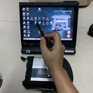 mb sd c5 with ssd xentry 2020.09v install in used laptop x201t 4G touch screen work for mb star c5 diagnostic tool