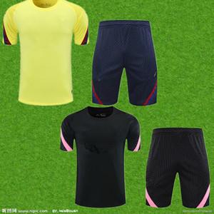 2021 ultima squadra di calcio abbigliamento sportivo 2021 superiore vestito di sport di calcio degli uomini della camicia vestiti club di allenamento fitness