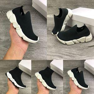 Neue 2020 Kinder Infant Strick Geschwindigkeit Socke Runner Gestrickte Niedrige Laufschuhe Schwarze Trainer Kiw Cut Sneakers Kinder Mädchen Jungs Mode Schuhe