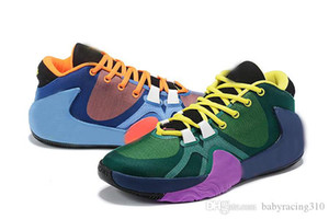 2019 Women ZOOM Greek Freak 1 Giannis Antetokounmpo GA I 1S Signature Basketball Shoes Cheap GA1 Sports Sneakers free delivery Size 36-39