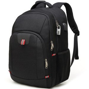 Large capacity 17.3 inch laptop backpack outdoor USB travel bag multifunctional backpack anti-theft business backpack