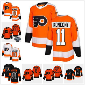 Custom Philadelphia Flyers jerseys 79 Carter Hart 13 Kevin Hayes 28 Claude Giroux Travis Konecny Customize any number any name hockey jersey