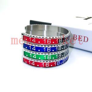Роскошный браслет дизайнерские моды браслеты для женщин мужские часы стиль манжеты высококачественные мужчины из нержавеющей стали мужские ювелирные изделия мода вечеринка