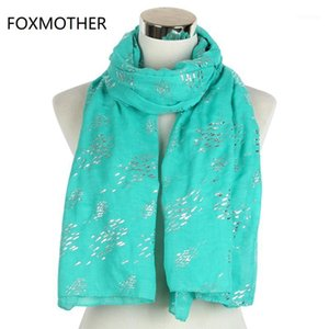 Foxmother neue Modefolien-Splitter-Fischschals für Frauen Damen1