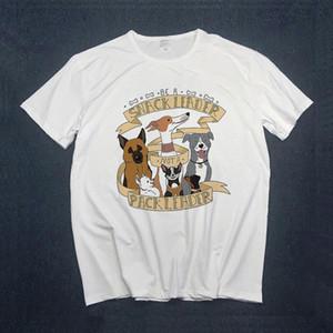 Women 2021 Spring Summer Fashion Animal Dog Clothing Print Lady Womens Top Ladies Graphic Female T Shirt T shirts Tee Top