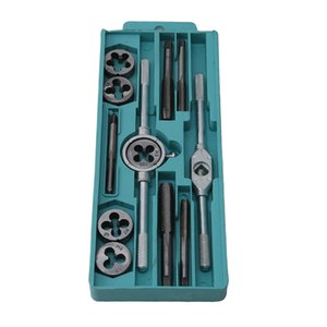 20pcs lot Tap & Die Set with Small Tap Twisted Hand Tools and Screw Thread Plugs Taps Hand Screw Taps
