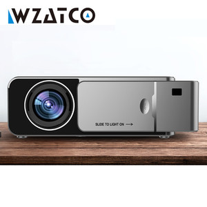 WZATCO T6 HD LED Projector 3000Lumen Android 10.0 Option Portable I USB Support 4K 1080p Home Theater Cinema Proyector Beamer
