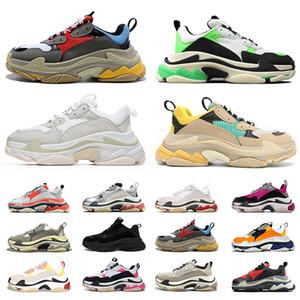 balenciaga triple s luxury designer platform shoes 2020 hommes de femmes chaussures de sport baskets vintage de la plate-forme de la mode luxurys taille de marche de jogging 36-45