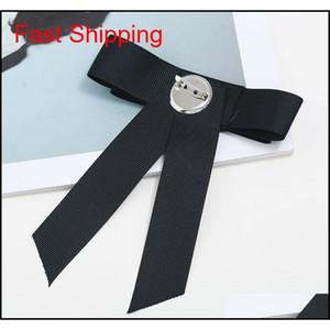 Heißer verkauf neue großhandel - pin broschen förderung ribbon trendy unisex diamant schmuck broche bogen brosche shir qylvrd mj_fashion